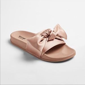 NWT Mossimo Julisa Blush pink bow slides